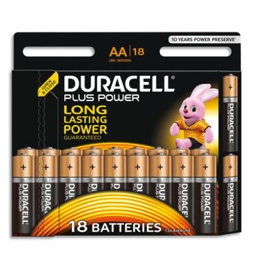 URACELL Blister de 18 piles Plus power AA