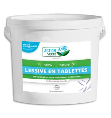 ACTION VERTE Tablette linge sous film hydrosoluble, 160 tablettes