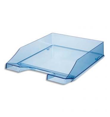HAN Corbeille à courrier 25,5 x 6,5 x 34,8 cm coloris bleu cristal