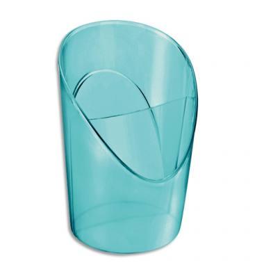 ESSELTE Pot à crayons 2 compartiments COLOUR'ICE en polystyrène bleu