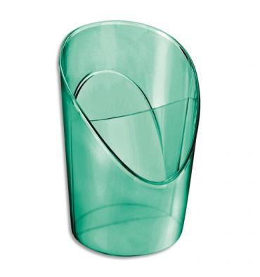 ESSELTE Pot à crayons 2 compartiments COLOUR'ICE en polystyrène Vert