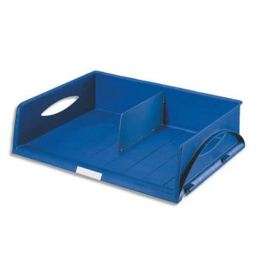 LEITZ Corbeille Sorty format paysage A3 - Bleu - L 49 x H 12,5 x P 38,5 cm