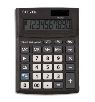 CITIZEN Calculatrice de bureau 10 chiffres CMB 1001-BK,New Business Line semi