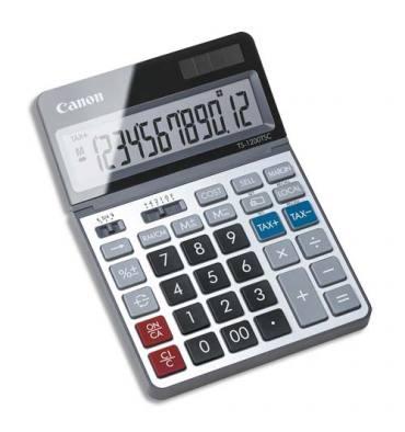 CANON Calculatrice écologique TS-1200TSC 12 chiffres écran inclinable