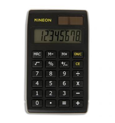 KINEON Calculatrice de poche 8 chiffres DX-310