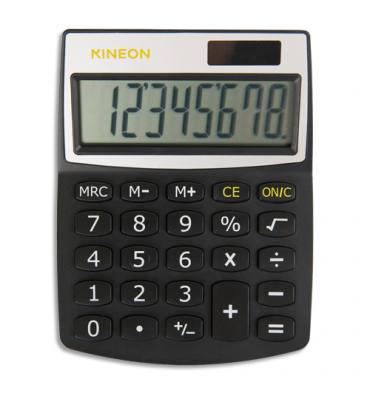 KINEON Calculatrice de bureau 8 chiffres KC-530