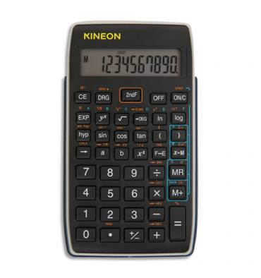 KINEON Calculatrice scientifique KC-S17, 56 fonctions avec racine carrée