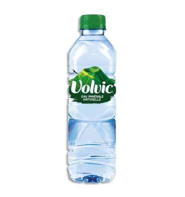 VOLVIC Bouteille plastique d'eau nature de 50 cl