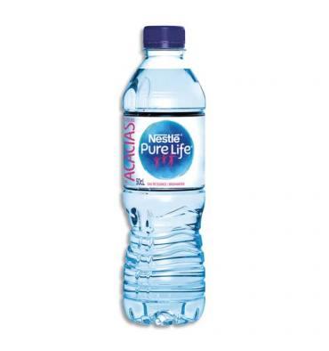 NESTLE WATER Bouteille plastique d'eau plate de 50 cl Pure Life