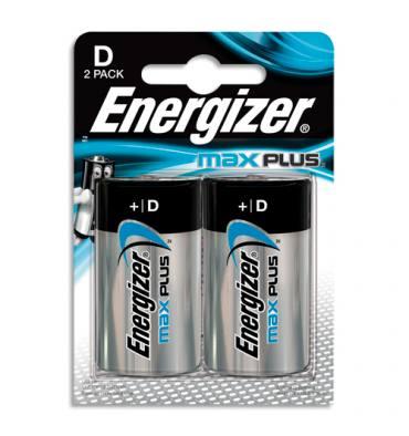 ENERGIZER Blister de 2 piles D LR20 MAX PLUS
