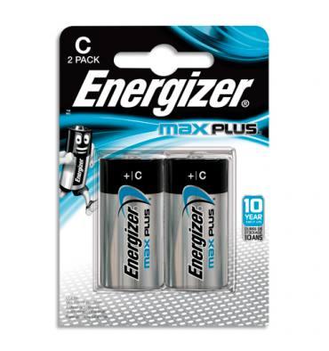 ENERGIZER Blister de 2 piles C LR14 MAX PLUS