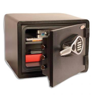 PHOENIX Coffre-fort de sécurité Titan Aqua 24 litres, serrure électronique. L47 x H35,6 x P48,3 cm