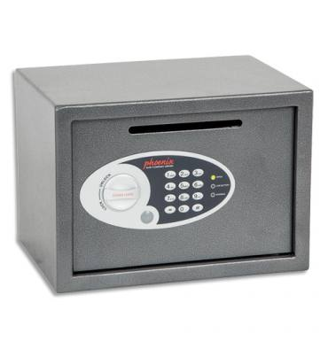 PHOENIX Coffre-fort de sécurité Vela 17 litres, serrure électronique, L35 x H25 x P25 cm