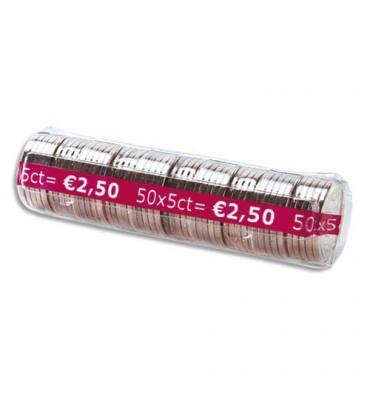 WONDAY Boîte de 100 étuis à Monnaie The Container pour pièces 0,05 €, contient 50 pièces FA62270