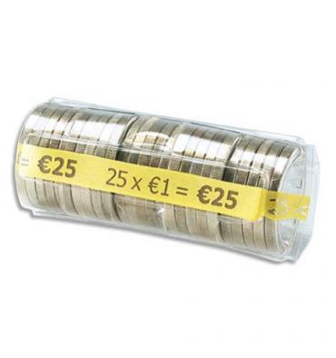 WONDAY Boîte de 100 étuis à Monnaie The Container pour pièces 1 €, contient 25 pièces FA62262