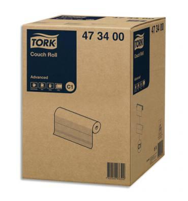 TORK Colis de 9 Draps d'examen 152 feuillets 2 plis Blanc - Format L37,5 x l50 cm, Longueur 57 mètres