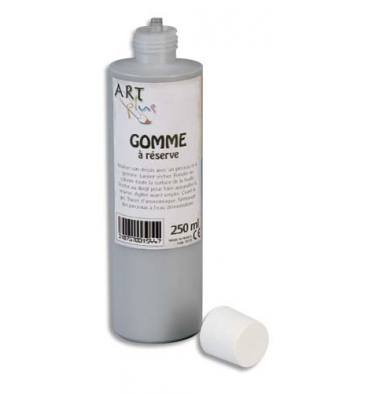 ART PLUS Gomme à réserve 250 ml