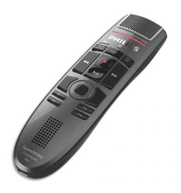 PHILIPS Micro sans fil SpeechMike Premium Air SMP4000 avec touche de réglage
