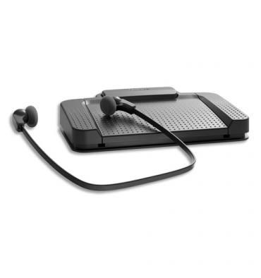 PHILIPS Kit de transcription pédale, écouteur, adaptateur audio USB LFH5220/00