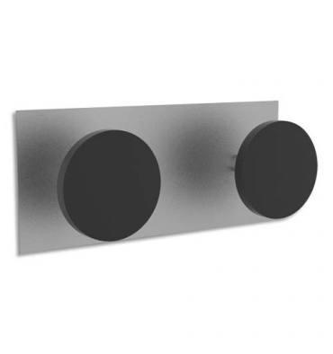 ALBA Double patères magnétiques, charge 10 kg
