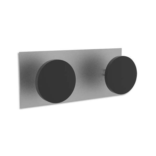 ALBA Double patères magnétiques, charge 10 kg (photo)