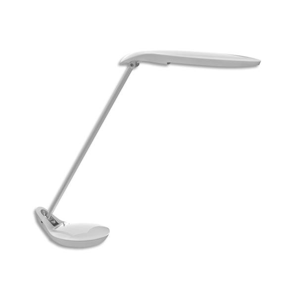 ALBA Lampe de bureau LED Poppins blanc avec un bras double articulé (photo)