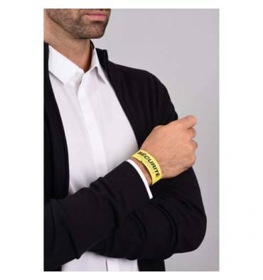AVERY Sachet de 50 Bracelets d'identification imprimables Laser Jaune 26,5 x 1,8 cm