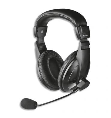 TRUST Casque Quasar USB headset 16976