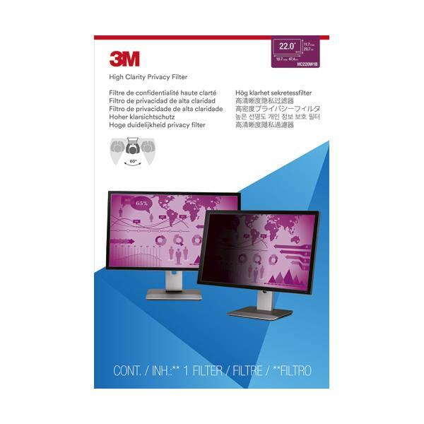 3M Filtre de confidentialité pour ordinateur fixe de 22