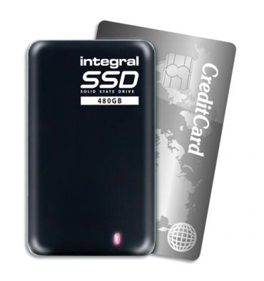 INTEGRAL Disque dur SSD Portable USB 3.0 480Go INSSD480GPORT3.0