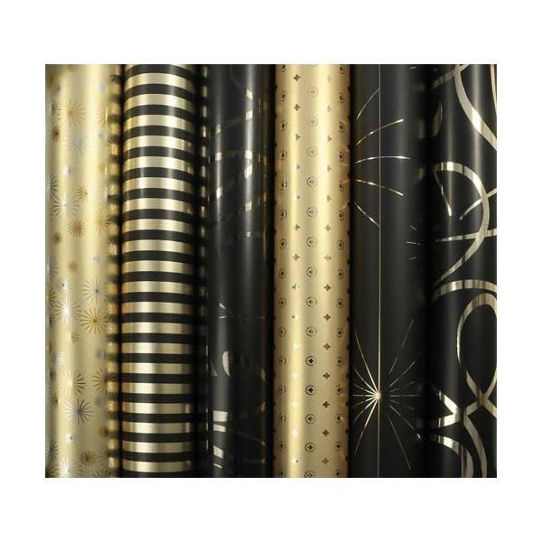 CLAIREFONTAINE Rouleau de papier cadeau Premium 80g pelliculé - Collection Max et moi Format 2x0,70m (photo)