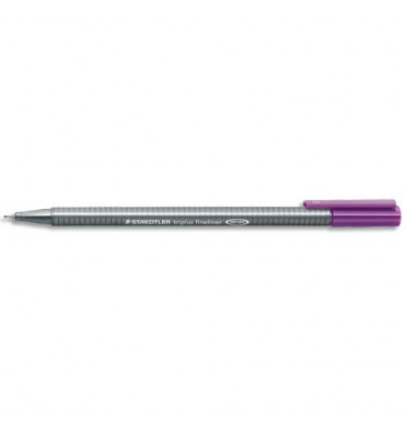 STAEDTLER Stylo feutre fineliner TRIPLUS violet. Pointe fine 0,3 mm