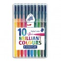 STAEDTLER Pochette de 10 feutres de coloriage Triplus