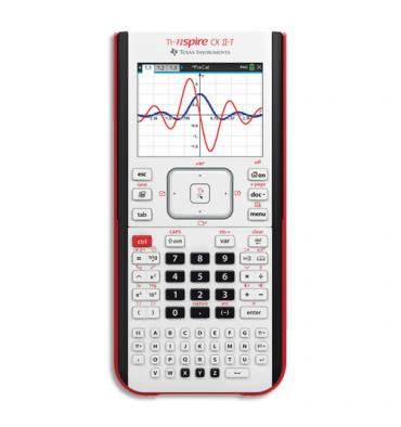 TEXAS INSTRUMENTS Calculatrice graphique TI-Nspire CX II-T
