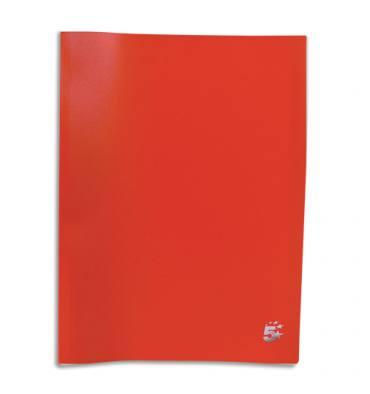 PERGAMY Protège-documents en polypropylène 40 vues, coloris rouge