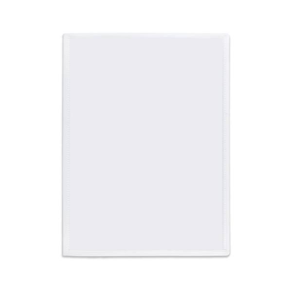 PERGAMY Protège-documents personnalisable en polypropylène blanc 80 vues