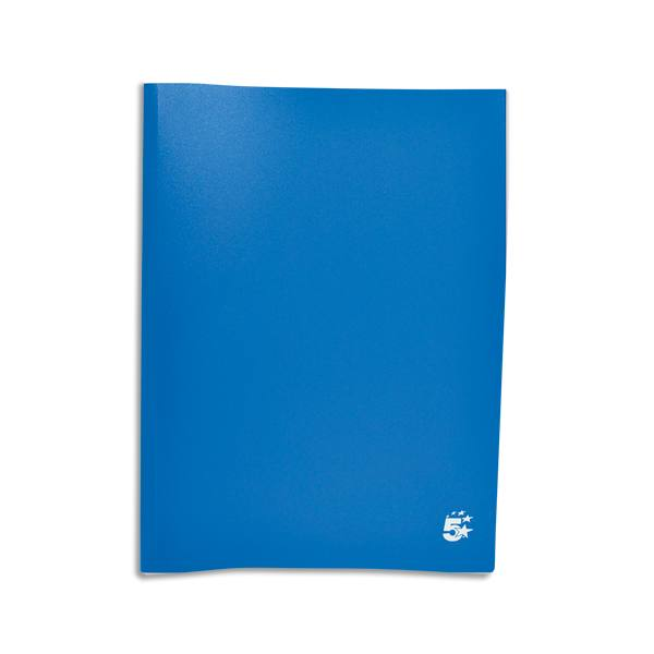 PERGAMY Protège-documents en polypropylène 160 vues, coloris bleu