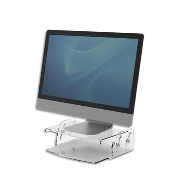 FELLOWES Support moniteur Clarity ajustable de 7 à 13 cm, 10kg