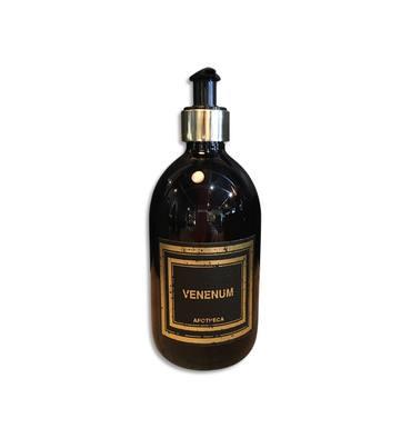 NEUTRE Savon liquide parfumé 500ml en flacon pompe. Parfum Venenum Immortelle et Reglisse