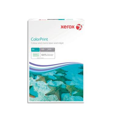 XEROX Ramette 500 feuilles papier extra blanc et lisse XEROX COLORPRINT A4 100G CIE 160