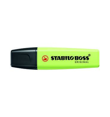 STABILO Surligneur BOSS ORIGINAL Pastel - zeste de citron Vert