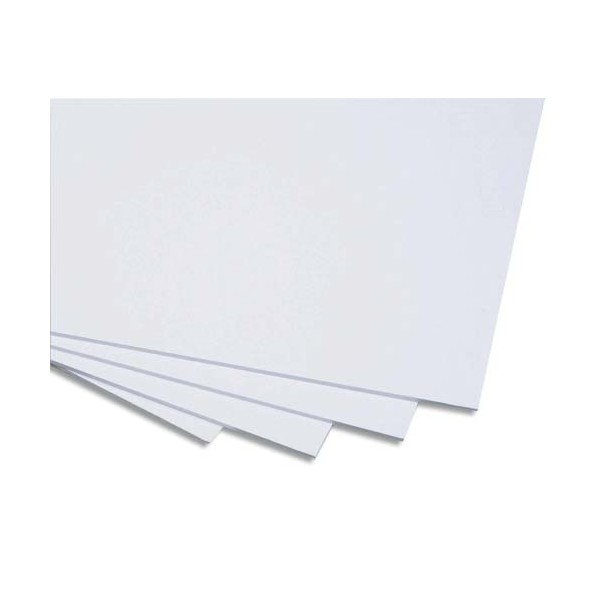 CLAIREFONTAINE Carton mousse blanc 50 x 65 cm épaisseur 10 mm