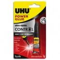 UHU Power Glue Control, Tube de colle liquide de 3 g