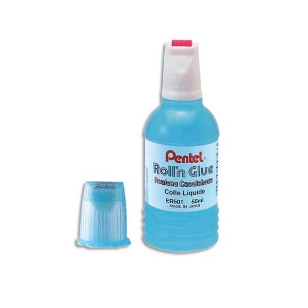 PENTEL Recharge flacon de colle transparente de 300 ml