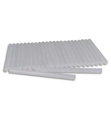 Sachet de 25 bâtons de colle opaque classique, Ø 7 mm, longueur 10 cm