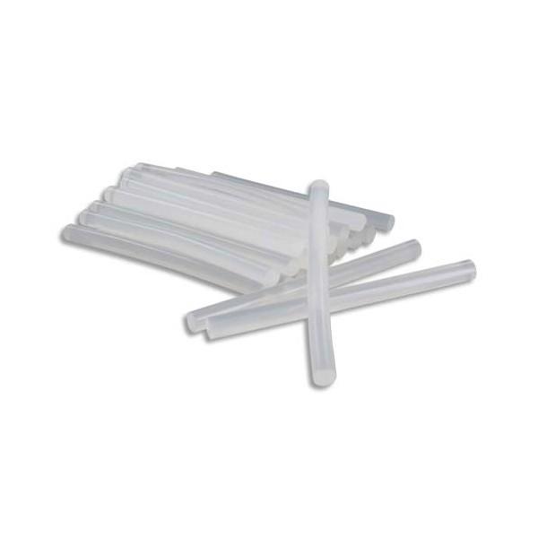 Sachet de 25 bâtons de colle forte transparente, Ø 7 mm, longueur 10 cm.