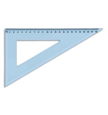 SCHOOLDAY Equerre 60° 22 cm en plastique incassable