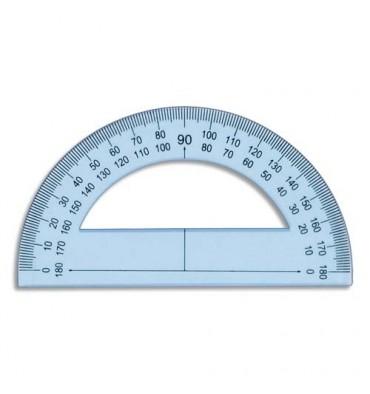 SCHOOLDAY Rapporteur 180° 12 cm en plastique incassable