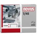 NOVUS Blister de 2000 agrafes 7/45