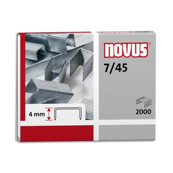 NOVUS Blister de 2000 agrafes 7/45